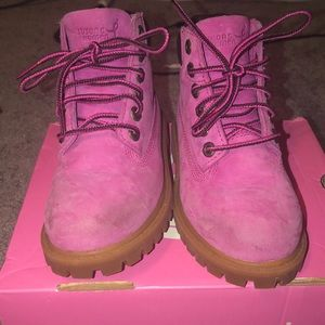 Toddler girls timberland boots